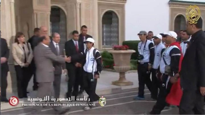 Sfax Tunis à pieds