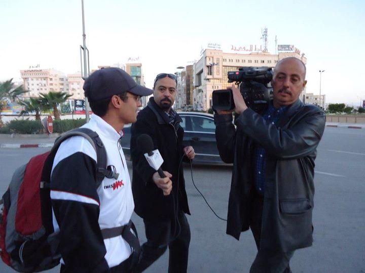 Sfax Tunis à pieds La télévision Nationale