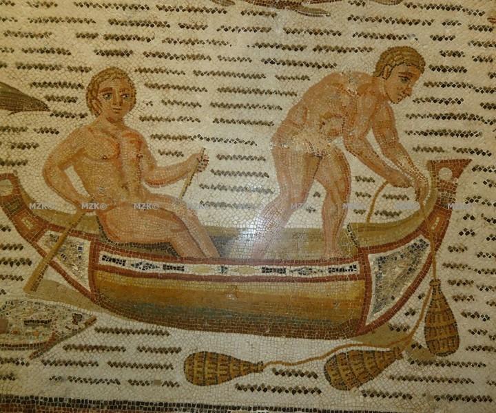 La pêche chez les romains