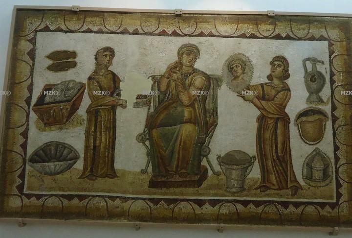 La vie des romains dans les mosaïques en Tunisie