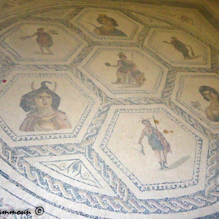 La mosaïque de Rome et ses provinces d'el Jem