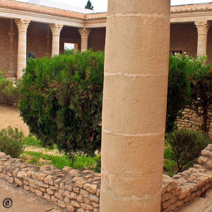 La maison d'Africa (une maison romaine reconstituée)