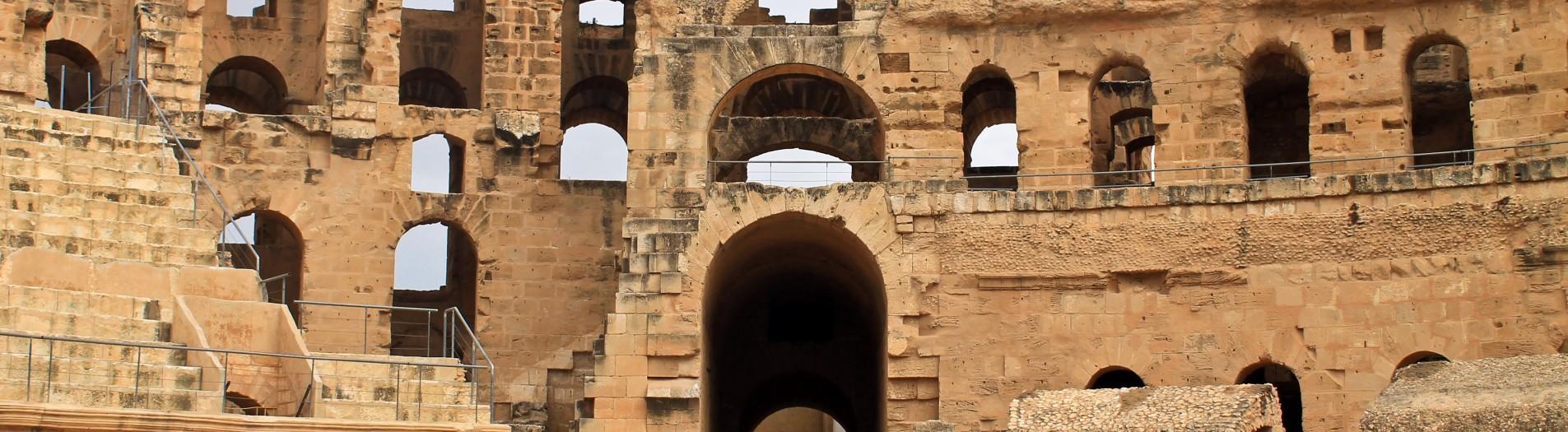 Les amphithéâtres romains en Tunisie