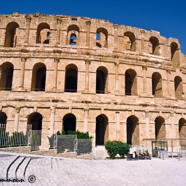 Le grand amphithéâtre d'El Jem
