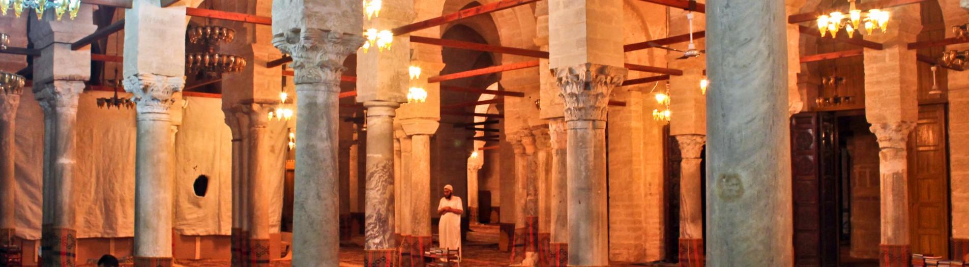 La grande mosquée de Sfax durant Ramadan