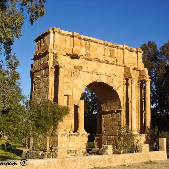 Le site archéologique de Sbeitla