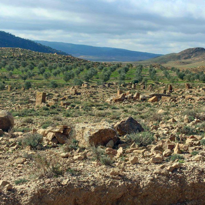 Le site archéologique Khanguet Slougui