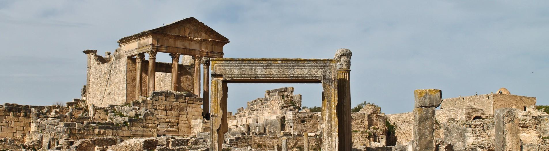 15 sites archéologiques de la Tunisie