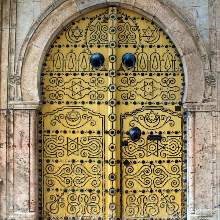 Portes de  la médina de Tunis ابواب مدينة تونس