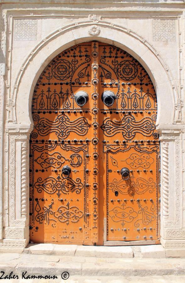 Zaher kammoun portes de la m dina de tunis for Porte de salon tunisie