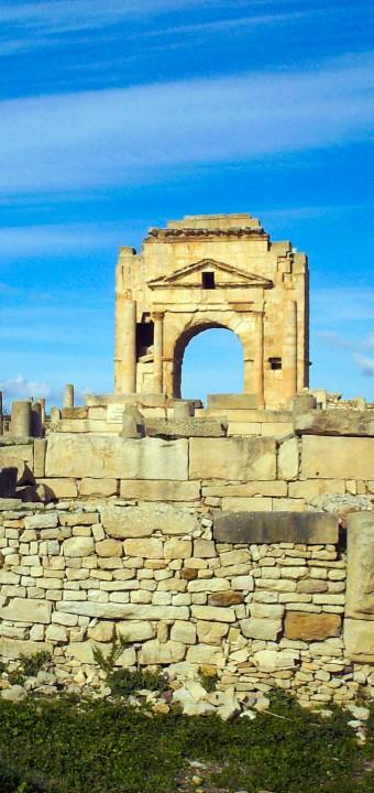 Le site archéologique de Makthar الموقع الاثري بمكثر