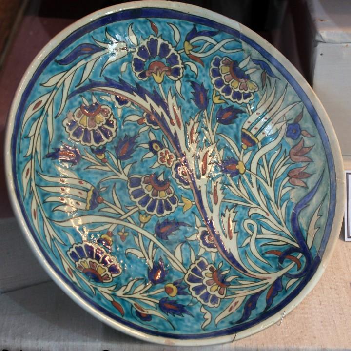 La céramique d'Iznik en Tunisie