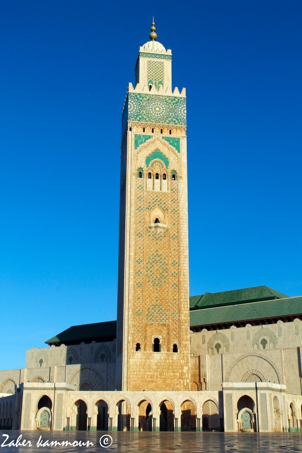 Zaher kammoun mosqu e hassan ii maroc for Mosquee hassan 2 architecture