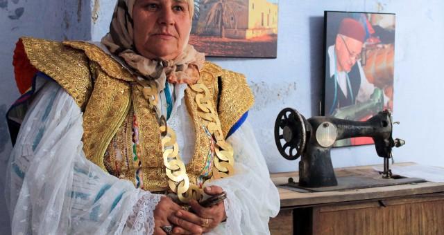 L'habit traditionnel féminin du Hammamet
