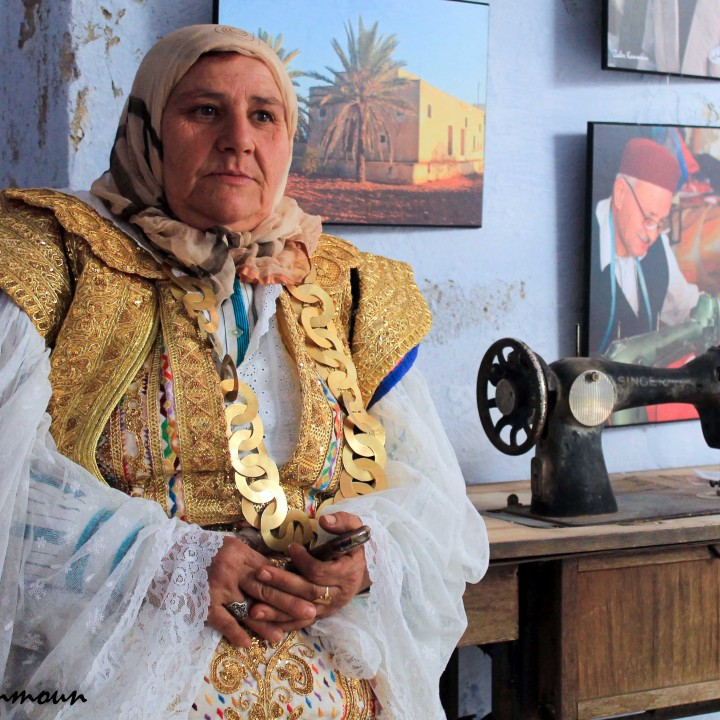 L'habit traditionnel féminin du Hammamet