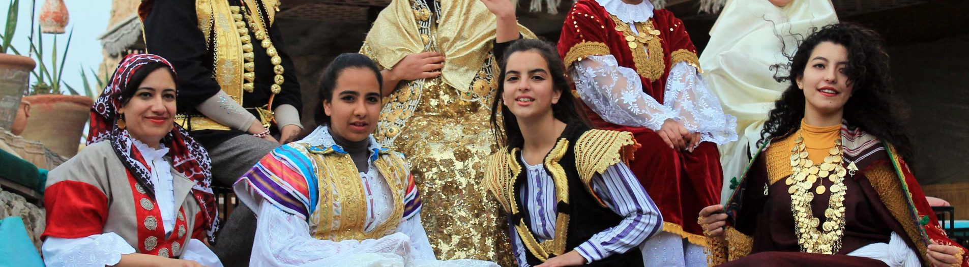 L'habit traditionnel Sfaxien à Hammamet et Nabeul