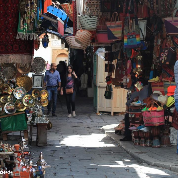 Des souks de la médina de Tunis