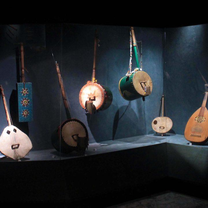 Des instruments de musique de la Tunisie
