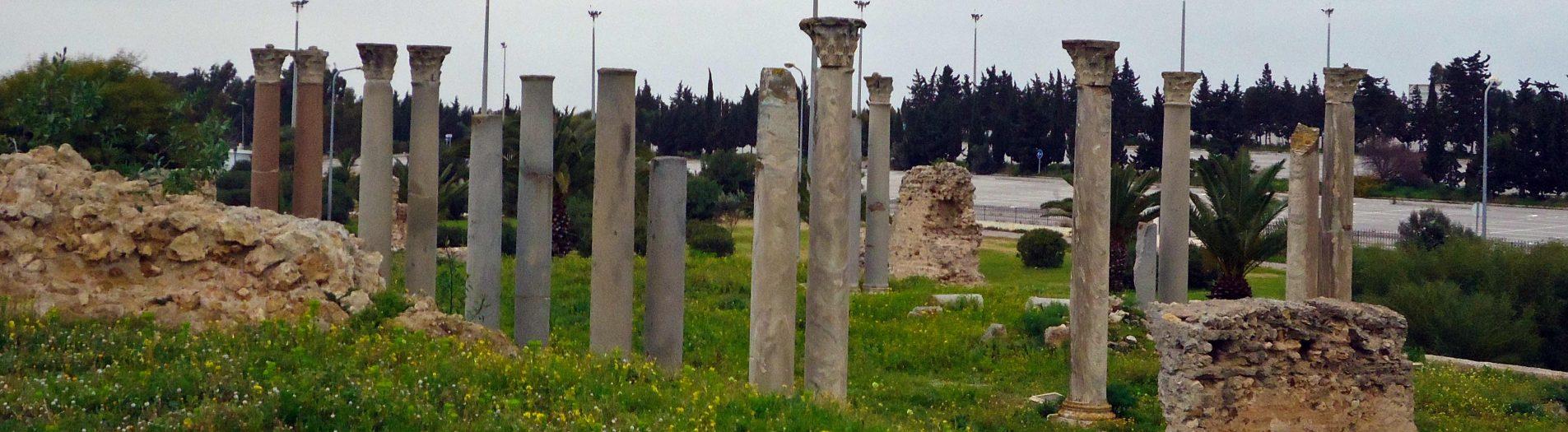 L'édifice des colonnes de Carthage