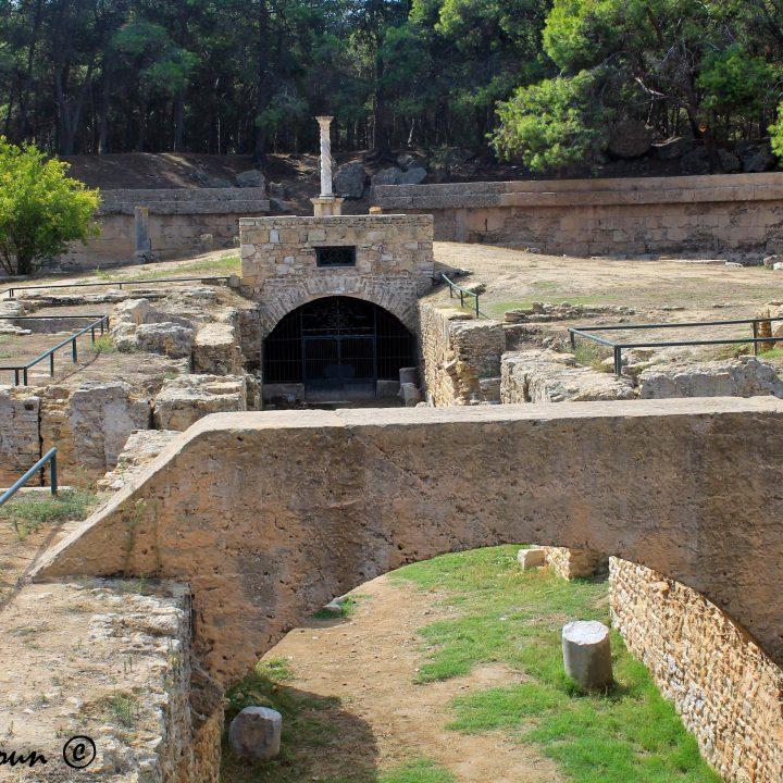 L'amphithéâtre romain de Carthage