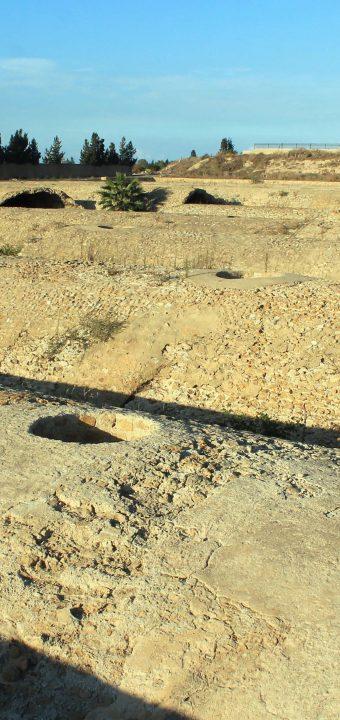 Les citernes de Malga de Carthage خزانات المعلقة