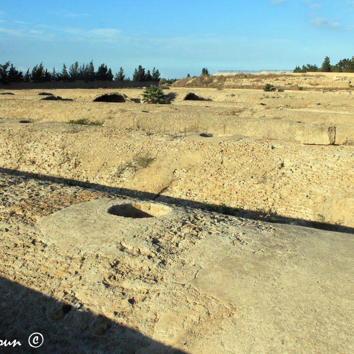 Les citernes de Malga de Carthage