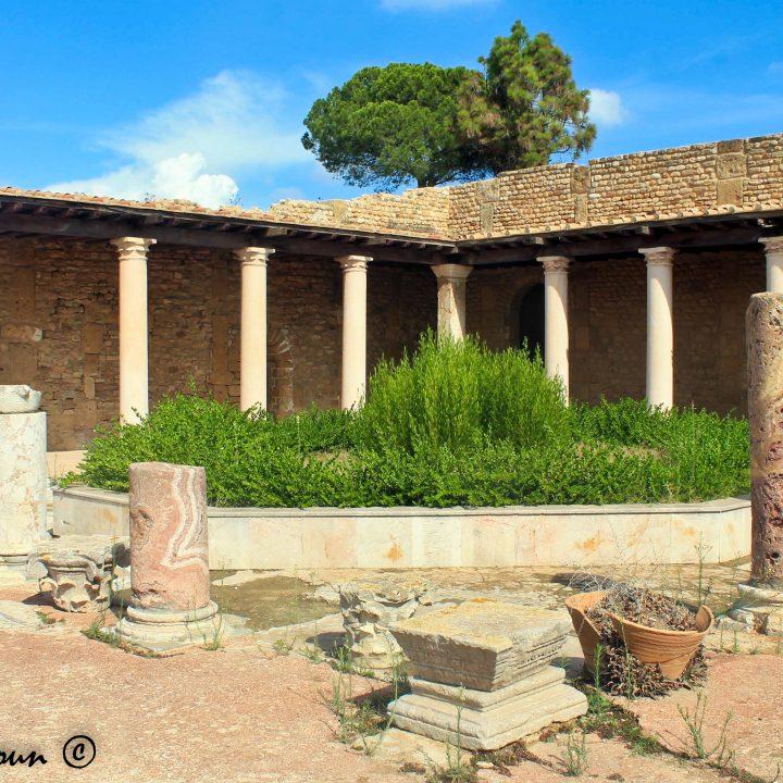 La villa de la volière de Carthage