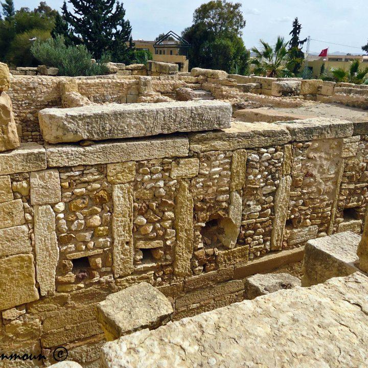 Les maisons fortifiées de Sbeïtla