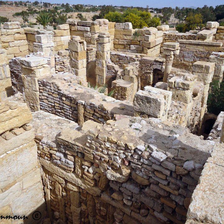 Les maisons fortifiées de Sbeitla المنازل المحصنة بسبيطلة