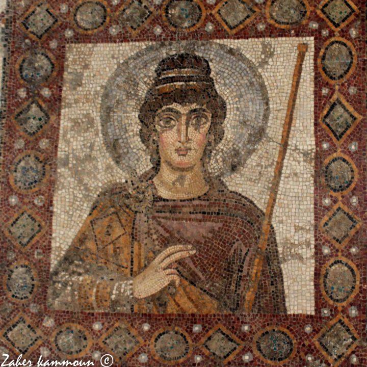 La mosaïque de la dame de Carthage