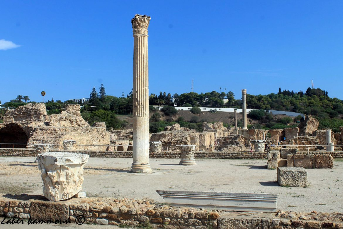 Les thermes d'Antonin de Carthage
