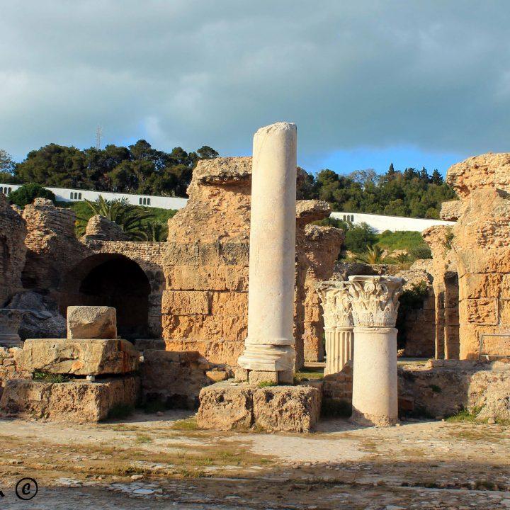 Les thermes romains en Tunisie