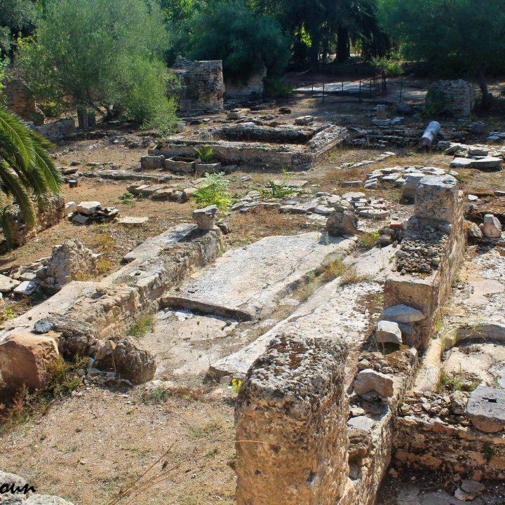 L'édifice à pièce trifoliée de Carthage