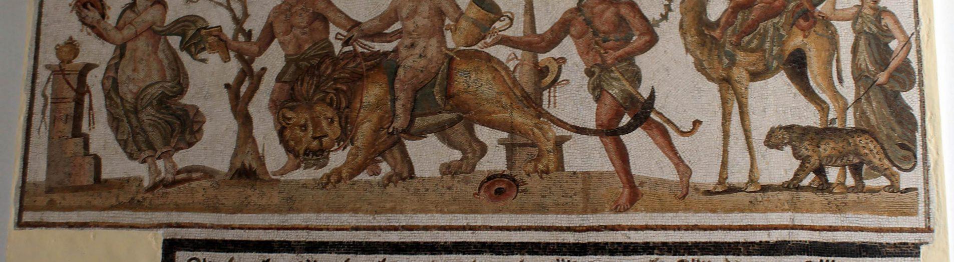 Les sujets dionysiaques dans la mosaïque romaine de la Tunisie