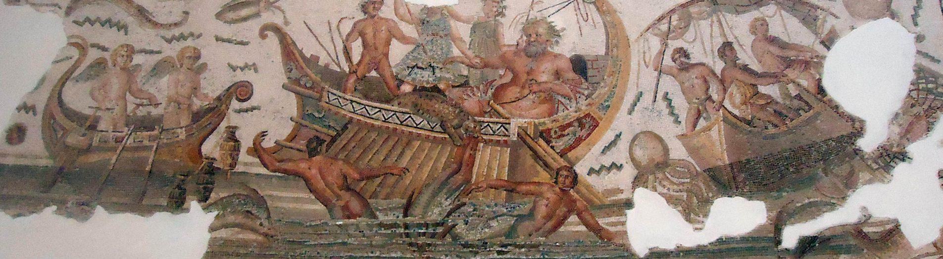 La mosaïque de Dionysos de Dougga