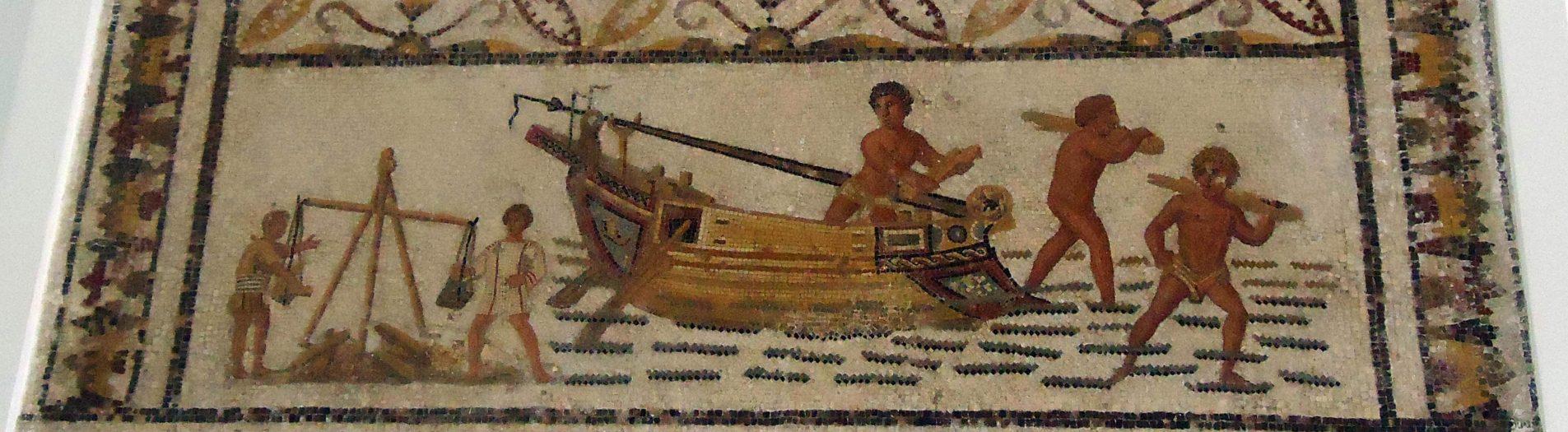 La mosaïque de déchargement de Sousse