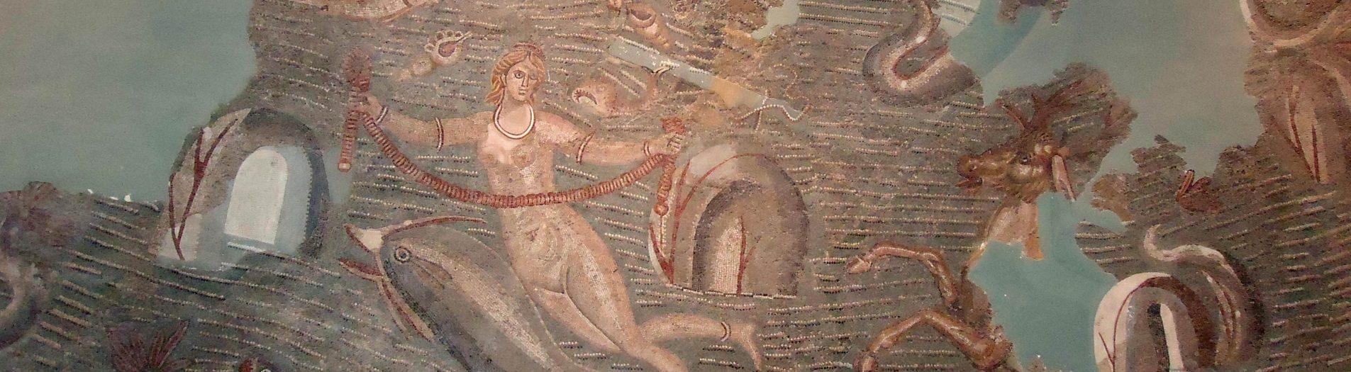 La mosaïque des Néréides de Carthage