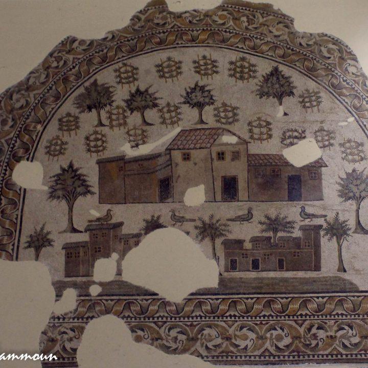 La mosaïque tripartite de Tabarka