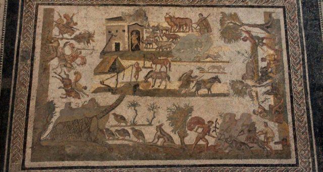 La mosaïque de la famille des Laberii