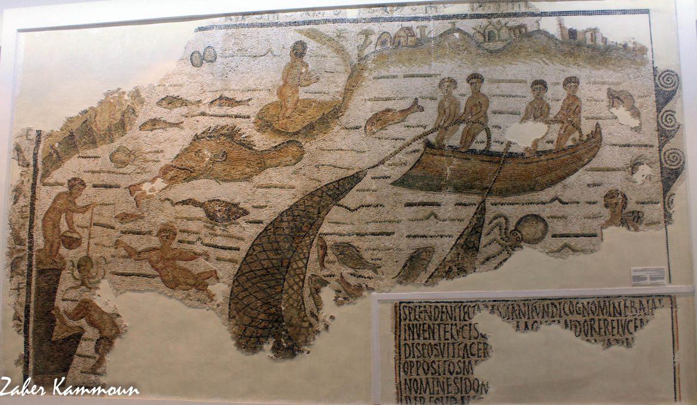 La mosaïque d'Hippo Diarrhytus