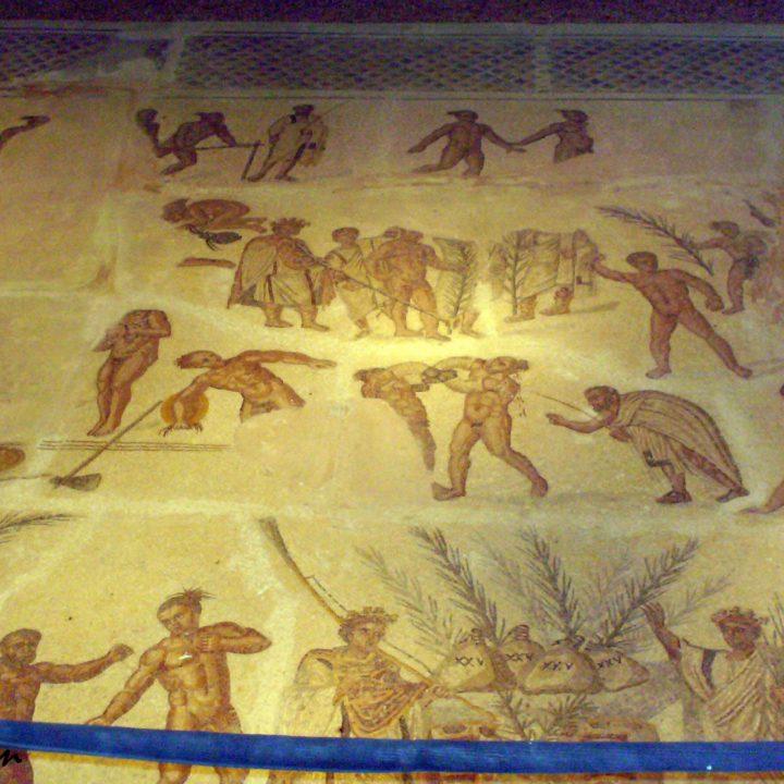 La mosaïque du Talh à Gafsa
