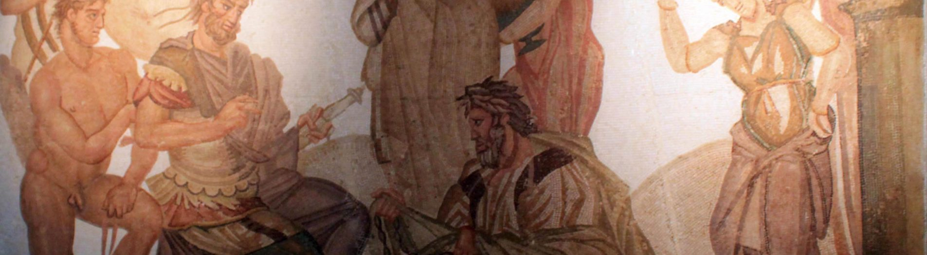 Les mosaïques de la maison des Nymphes de Nabeul