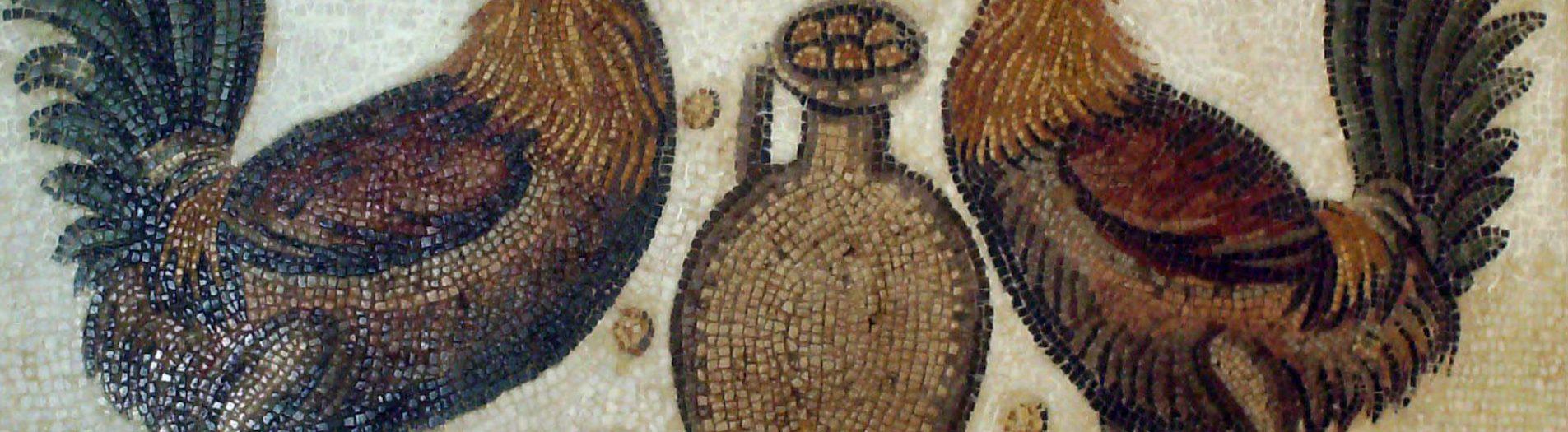 La mosaïque des coqs de Nabeul