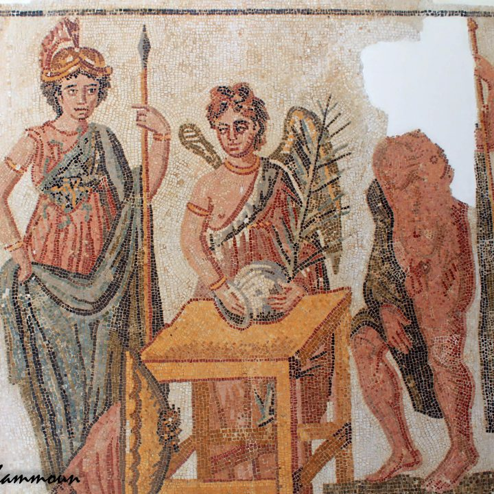 La mosaïque d'el Haouaria au Kairouan