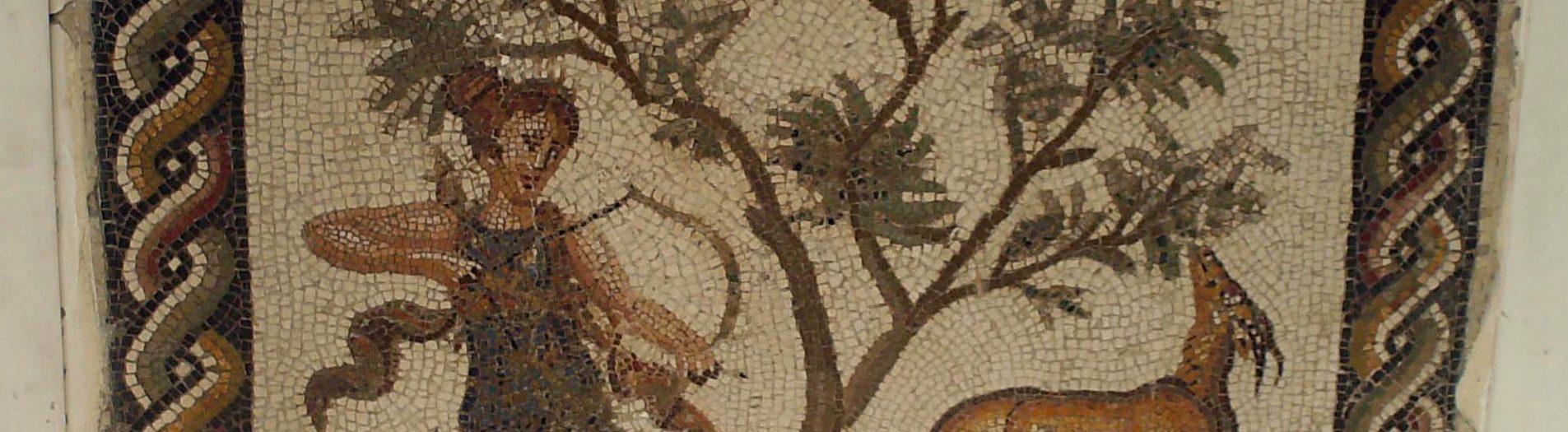 Les mosaïques de Diane la chasseresse en Tunisie