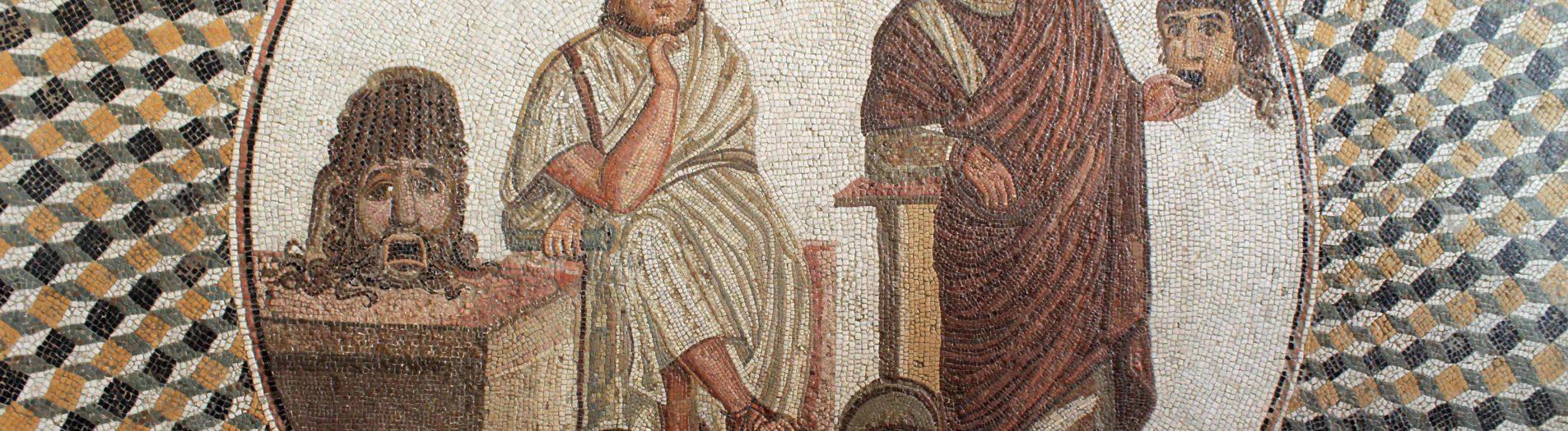 Les poètes dans la mosaïque romaino-africaine en Tunisie