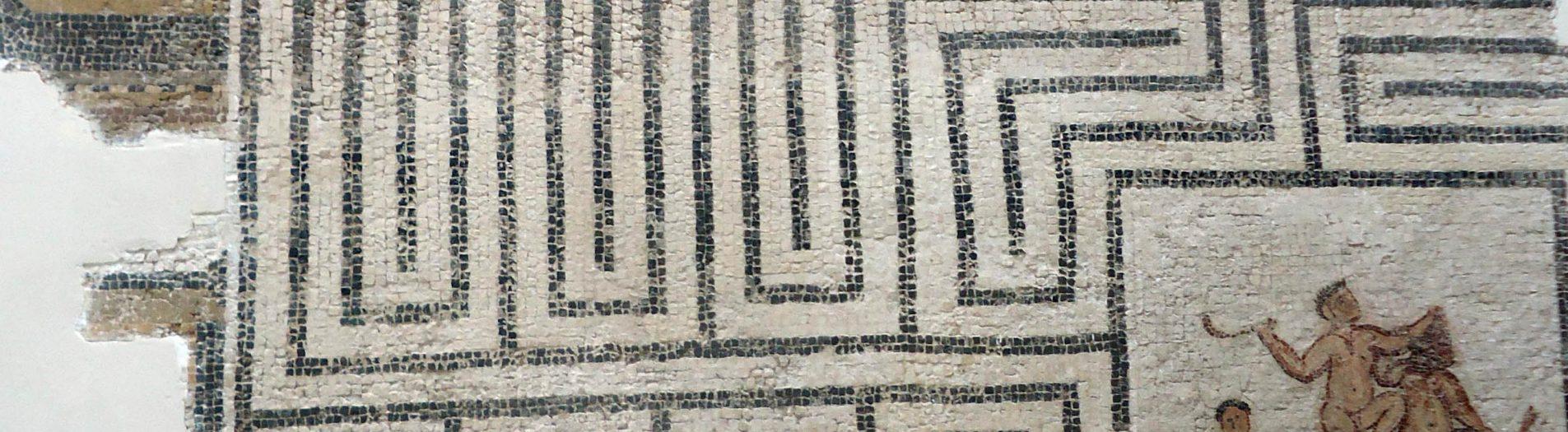 La mosaïque de combat de Thésée et du Minotaure de Thuburbo Majus