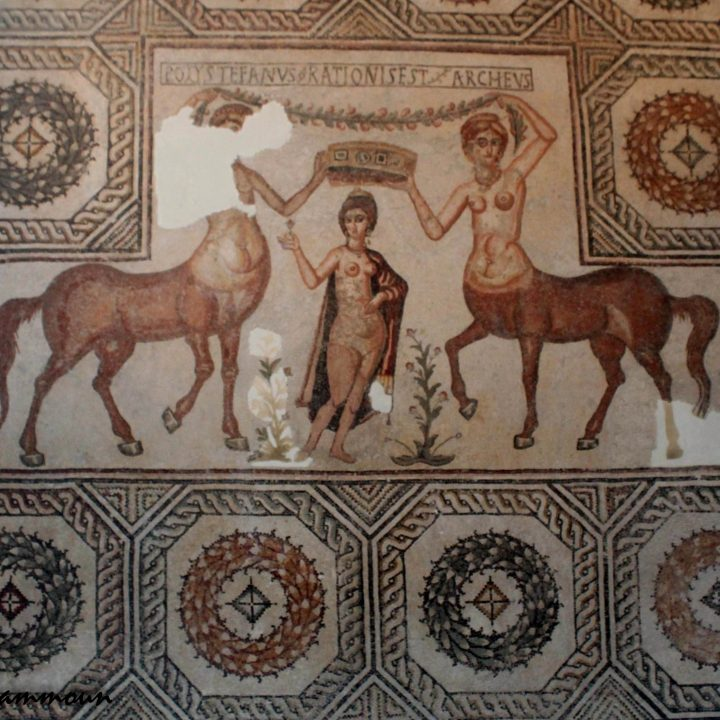 Vénus dans la mosaïque romaine en Tunisie