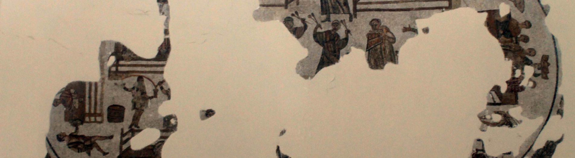 La mosaïque des 24 convives de Carthage