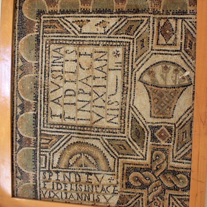 Des mosaïques du musée d'Enfidha